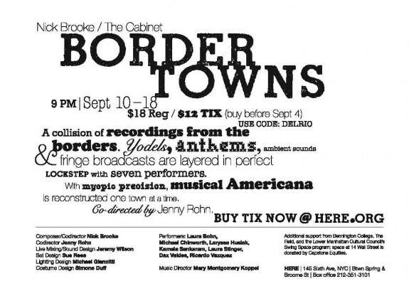 Border Towns at HERE